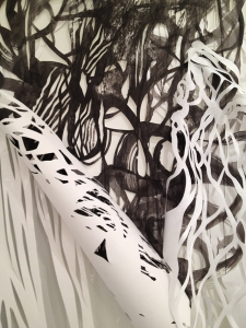 Front and Center Exhibition, detail.